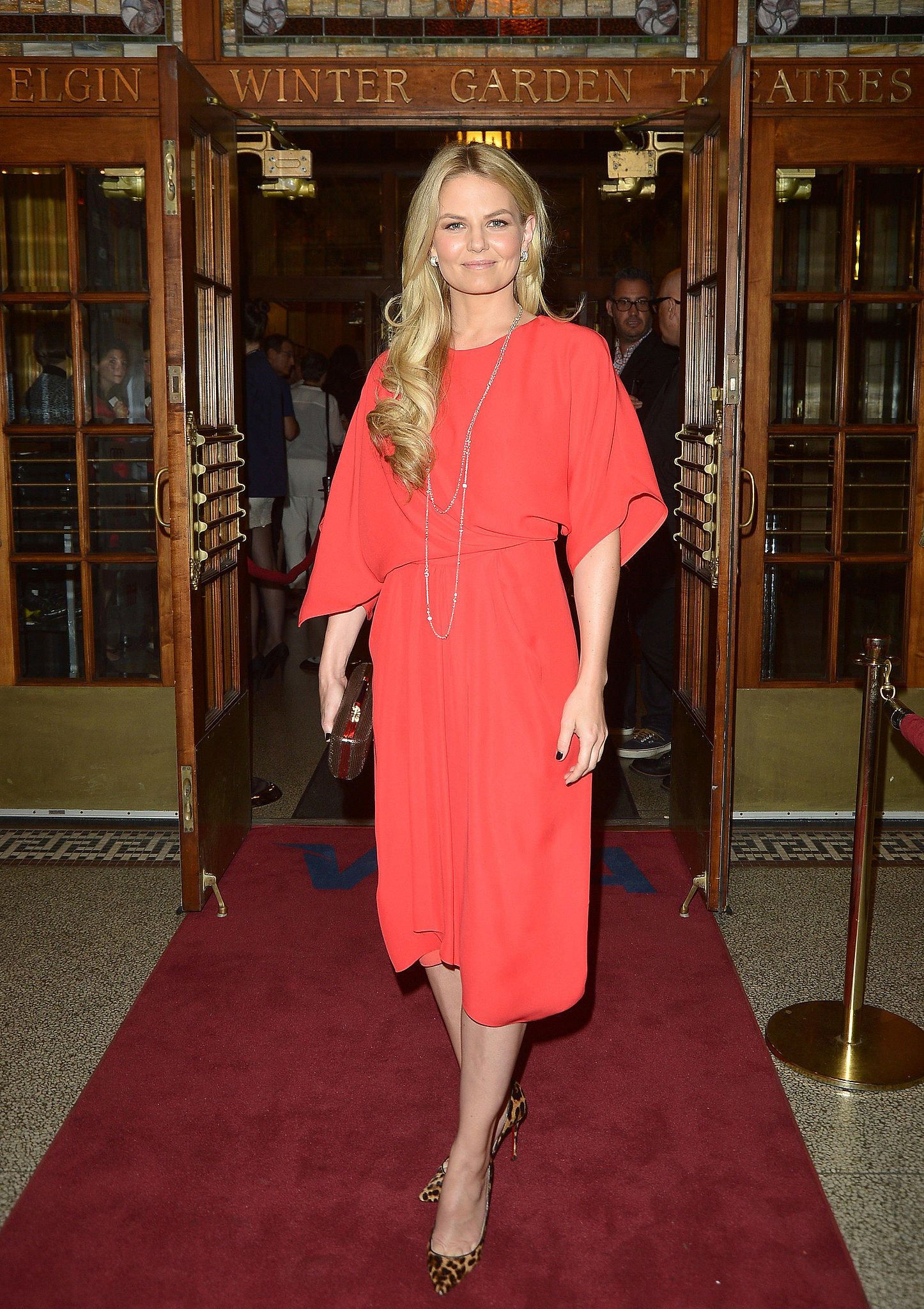 Jennifer Morrison arrived at the Felony premiere.
