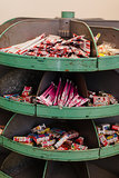 Vintage Candy Display