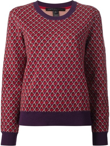 Marc By Marc Jacobs 'Luna' jacquard sweater