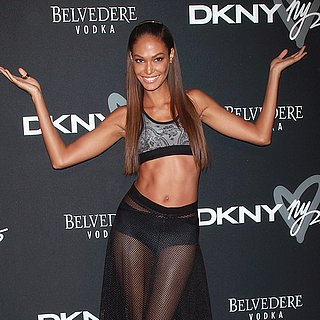 Joan Smalls Interview at New York Fashion Week Spring 2014