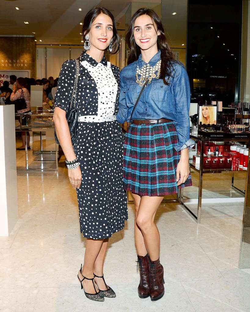 Dannijo's Danielle and Jodie Snyder were perfectly accessorized at Leandra Medine's Barneys book launch.