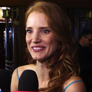 Jessica Chastain and James McAvoy Interview at TIFF (Video)