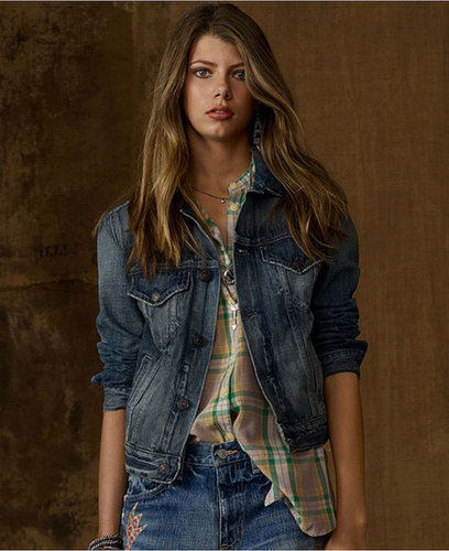 Denim & Supply Ralph Lauren Jacket, Distressed Denim