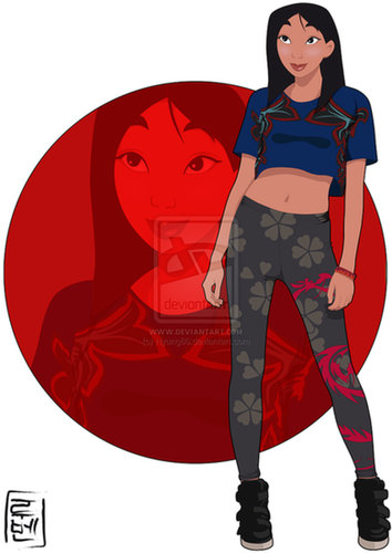 College Student Mulan