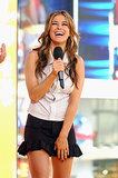 Carmen Electra appeared on TRL in 2003.