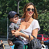 Miranda Kerr and Flynn Bloom Visit Museum in NYC