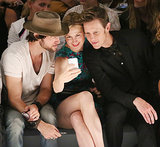 Kelly Rutherford and Gabriel Mann took a selfie at Nanette Lepore.
