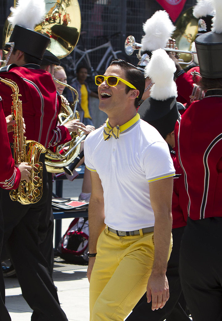 Glee Is Back Tonight — See Pictures from the Colorful Premiere