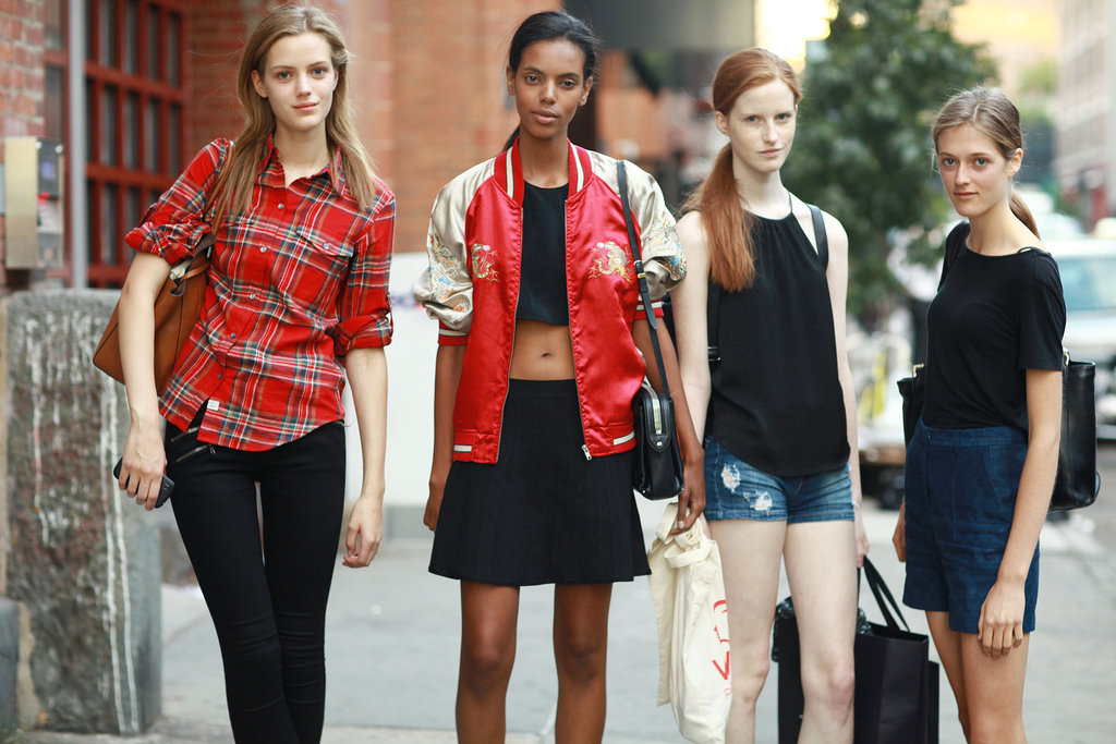 When models rule the school streets.
