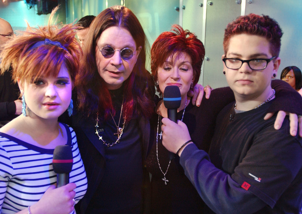 The Osbournes made a TRL appearance together in 2002.
