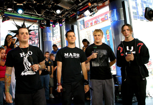 Good Charlotte stopped by MTV Studios in NYC in 2006.