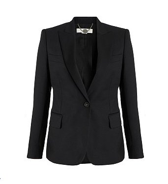 Stella McCartney x Goop Black Wool Blazer ($1,895)