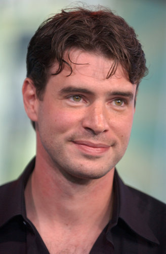 Scott Foley stopped by MTV Studios in NYC for TRL in 2003.