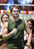Seann William Scott sported some shades while taping TRL at the MTV Beach House in East Quogue, NY, in 2003.