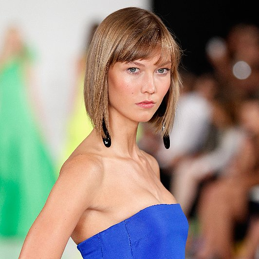 Ralph Lauren Spring 2014 Hair and Makeup | Runway Pictures