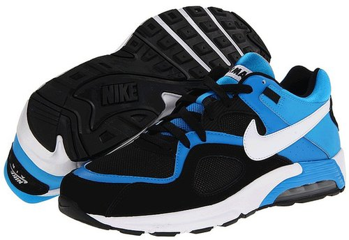 Nike - Air Max Go Strong (Black/Blue Hero/Matte Silver/White) - Footwear
