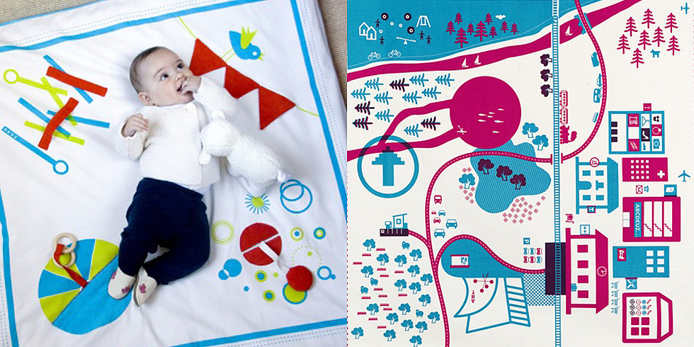 """Just Say """"Oui"""" to These Beautiful French Play Mats and Toys"""