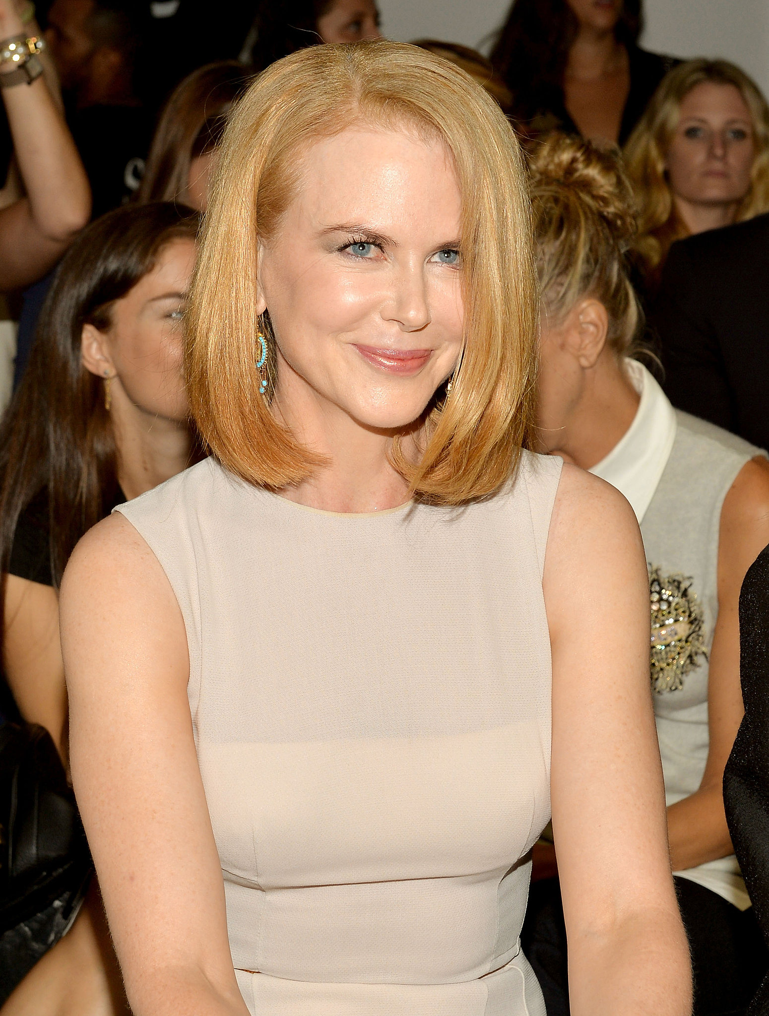 Nicole Kidman at Calvin Klein Spring 2014.
