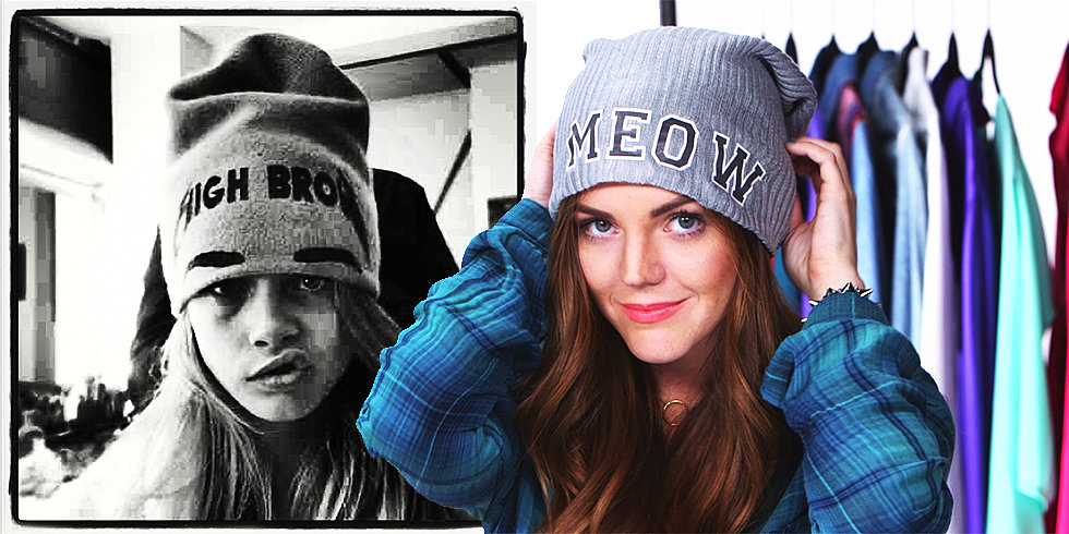 DIY: Make a Cool Beanie Inspired by Cara Delevingne and Rita Ora