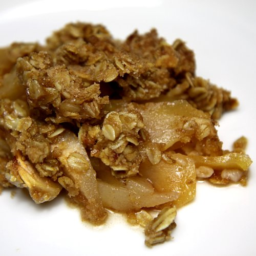 Healthy Recipe: Apple Pear Oatmeal Crisp