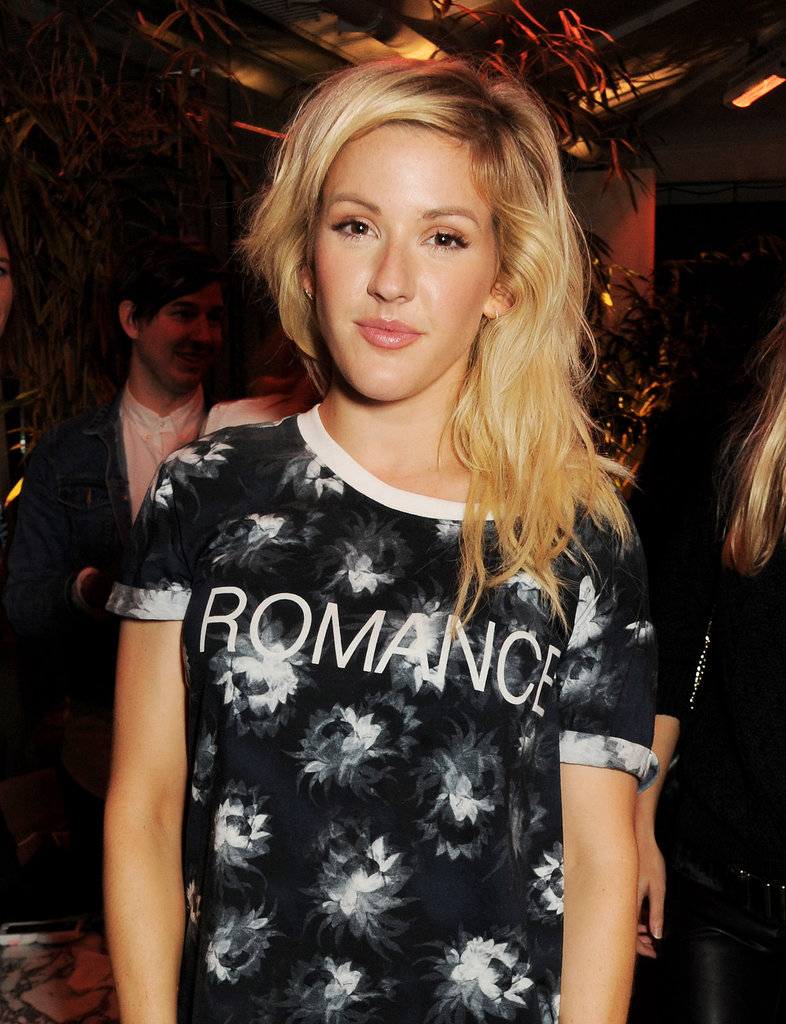 Ellie Goulding at the Elle magazine event.