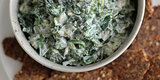 Tasty Tailgate: Watercress Spinach Dip With Flaxseed Crackers