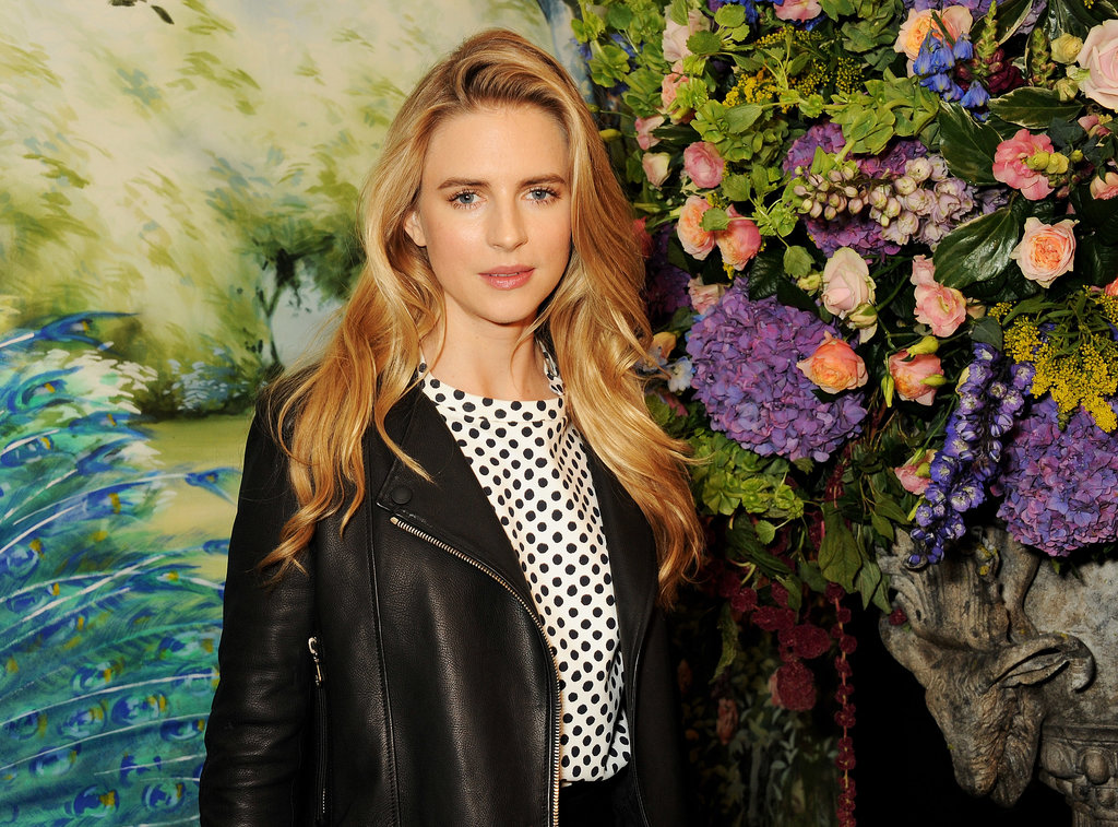 Brit Marling at Mulberry.