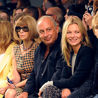 Front Row Celebrities at London Fashion Week Spring 2014