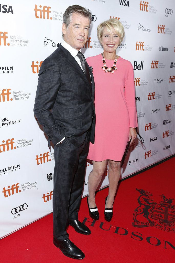 The Love Punch premiere was headlined by Pierce Brosnan and Emma Thompson.