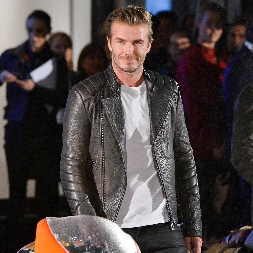 David Beckham Is the New Face of Belstaff