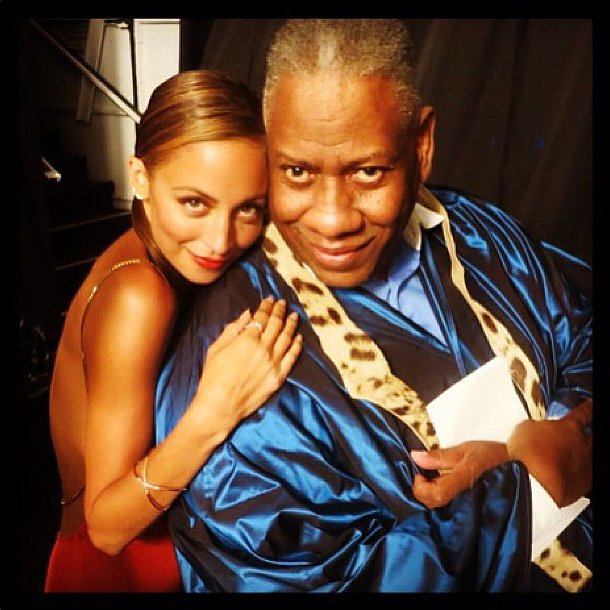We have to wonder what kind of mischief Nicole Richie and André Leon Talley were up to! Source: Instagram user nicolerichie