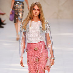 2014 Spring London Fashion Week Burberry Prorsum