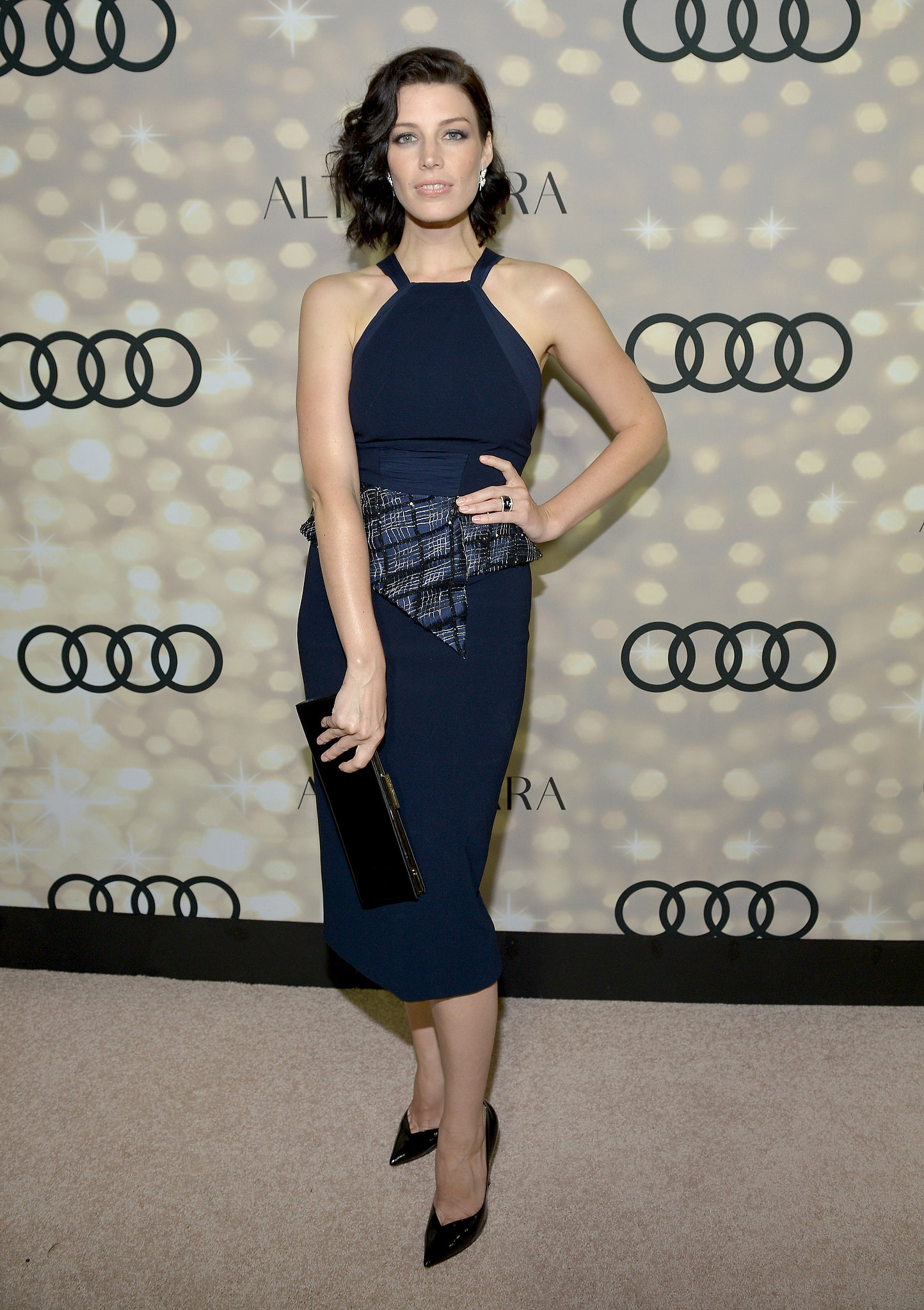 Jessica Paré joined Josepha Altuzarra and Audi in Bibhu Mohapatra to kick off Emmy week.
