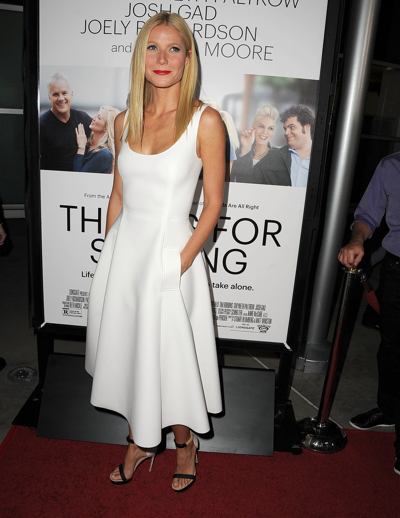 Gwyneth Paltrow wore white.