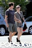 Anna Paquin held hands with Stephen Moyer.