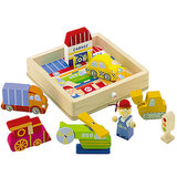 Sevi Play Puzzle Transportation