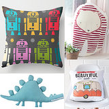 9 Stylish Throw Pillows Made Just For Kids