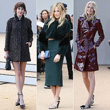 London-Bound! Celebrities Take Their Seats in the Front Row