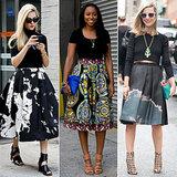 Les jupes longues et mi-longues sont les stars de la Fashion Week !