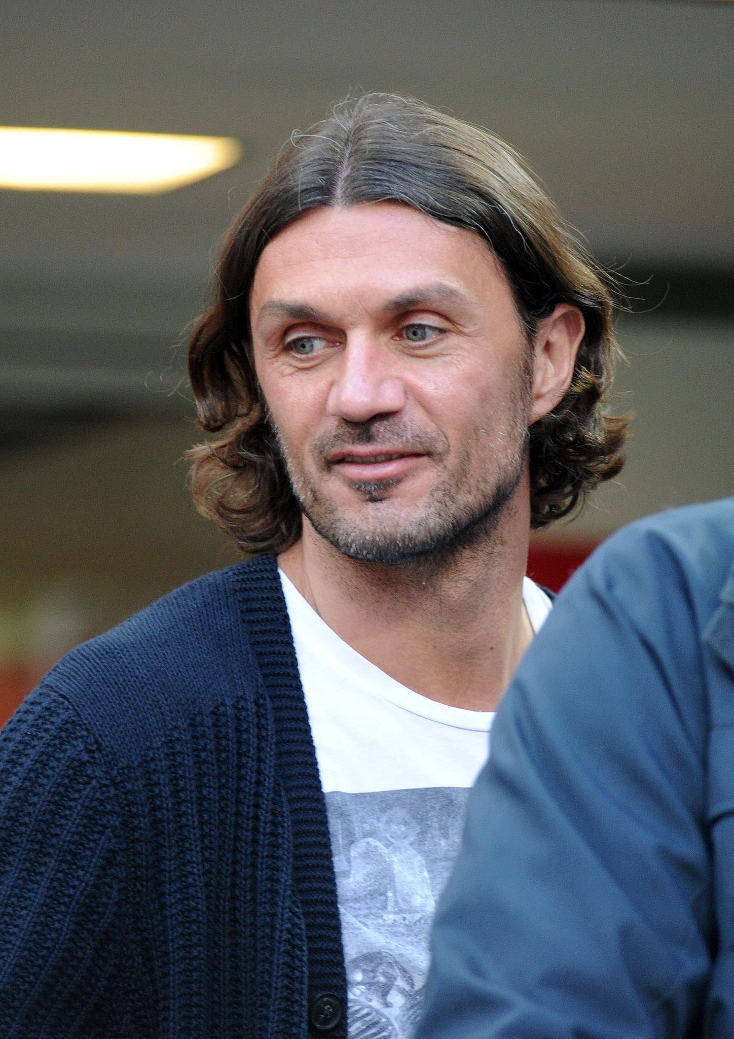 Former footballer Paolo Maldini has some fine Italian locks and the ...: www.popsugar.com/love/photo-gallery/23664602/image/23664617/Paolo...