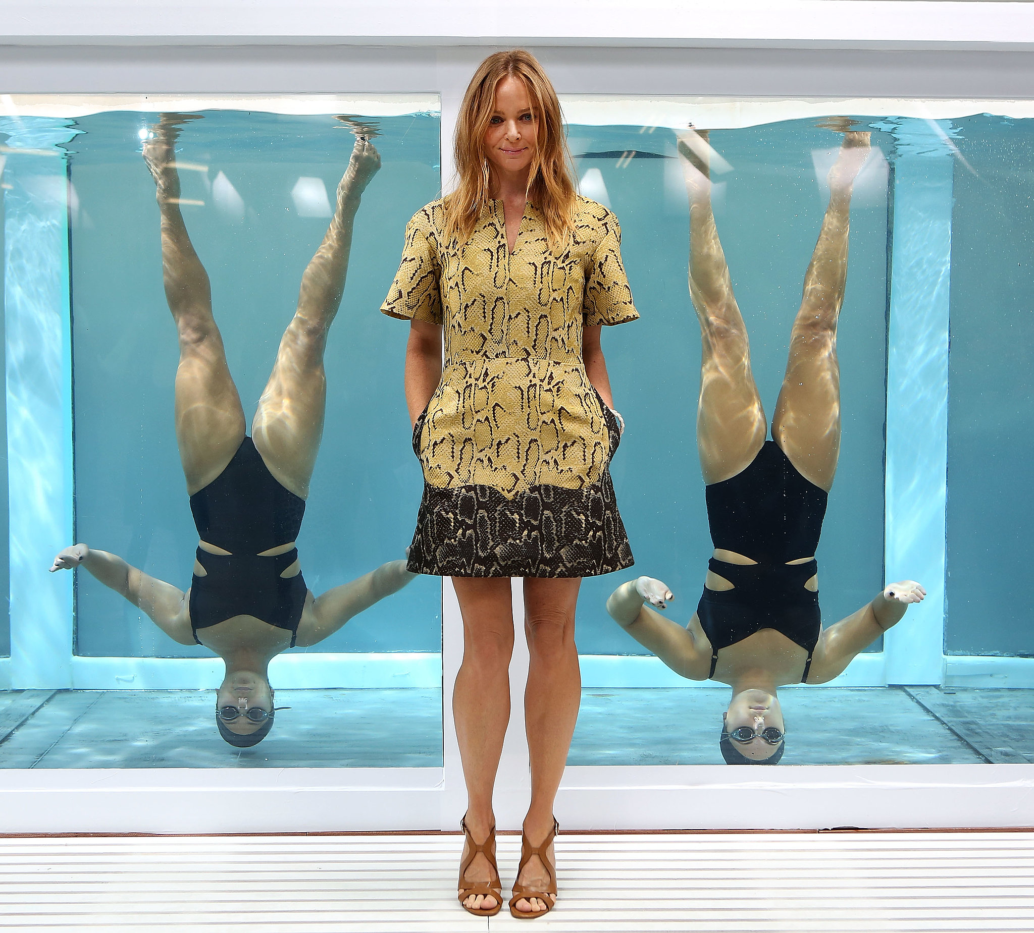Stella McCartney presented her Adidas by Stella McCartney collection.