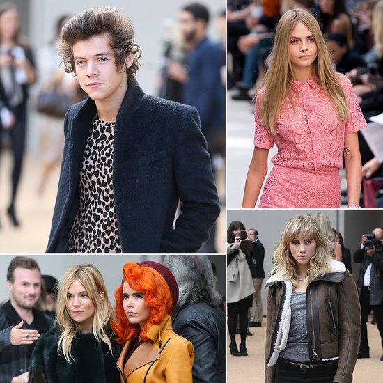 Harry Styles Hits Up Fashion Week to Support His Rumoured Supermodel Girlfriend