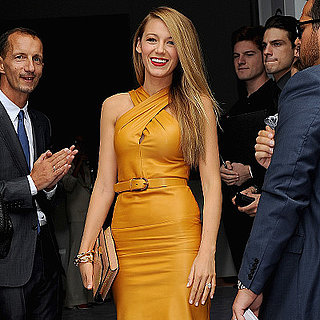Blake Lively Front Row at Gucci at Milan Fashion Week