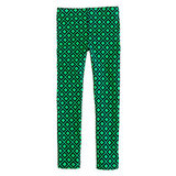 The diamond print and contrasting kelly-green-and-navy palette make Crewcuts' Everyday Leggings ($25) the perfect pair for little prepsters.