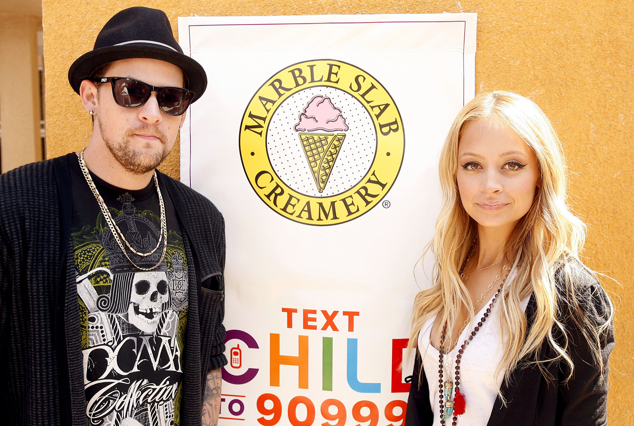 Nicole Richie and Joel Madden launched another children's charity initiative together in September 2008.