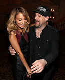 Nicole Richie and Joel Madden made the most of their night out during an LA Macy's event in September 2012.