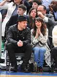Joel Madden and Nicole Richie had a sweet date night at a Knicks game in NYC back in February 2010.