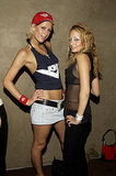 Nicole Richie and Paris Hilton partied in skimpy ensembles at a Hollywood bash in June 2002.