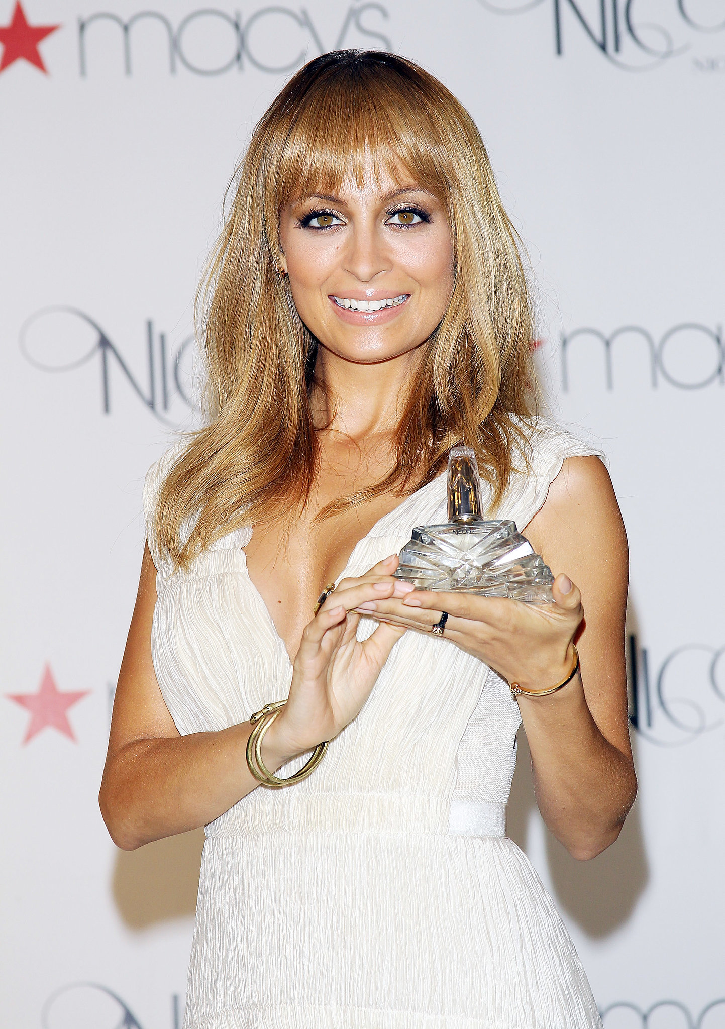 Nicole Richie attended a launch event for her fragrance, Nicole, at Macy's in LA in August 2012.