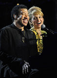 Nicole Richie joined her dad, Lionel, on stage during his special Las Vegas concert in April 2012 — so sweet!